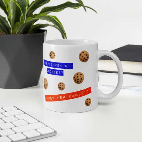Tasse - Akzeptieren Sie Cookies?