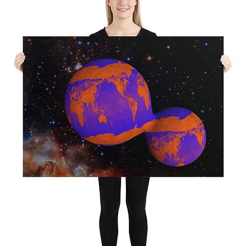 Welten teilen sich (Poster)