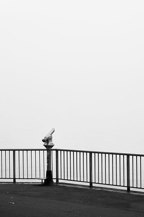 Ausblick auf den Nebel (Poster)