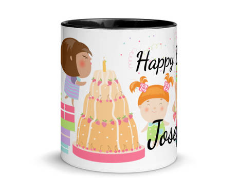 Happy Birthday Tasse (Personalisierbar)