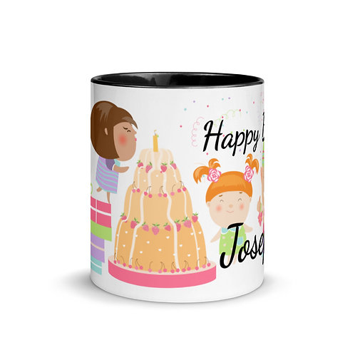 Happy Birthday Tasse (Personalisierbar)