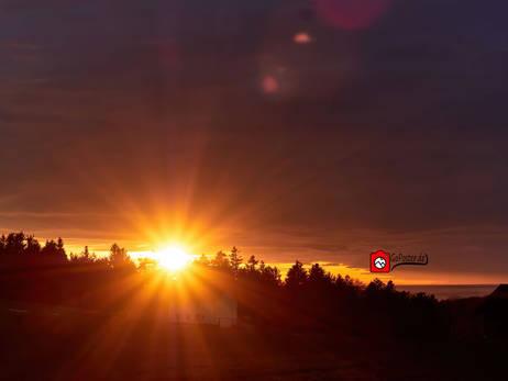 Sonnenuntergang Bayrischer Wald