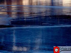 Reflektionen im Eis (Poster)