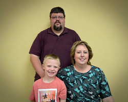 Stephen, Chrissy and J.C. Boone
