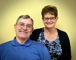 Dennis and Sandra Hawks