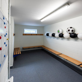 Rackheath Pavilion Changing Room
