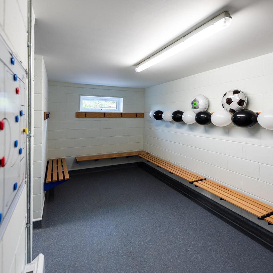 Rackheath Pavilion Changing Room