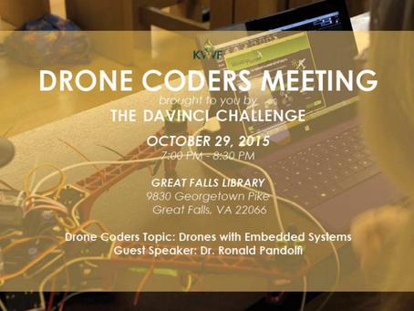 Drones with Embedded Systems