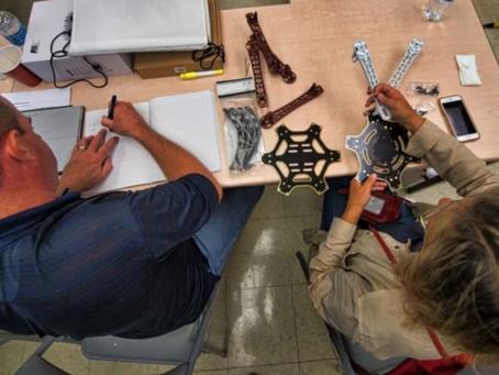 Teachers Take the Controls at Foxcroft Drone Workshop