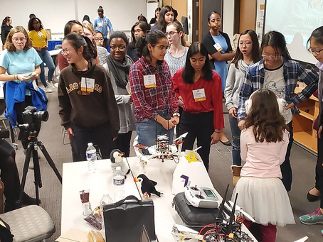 How the GIT Mentor-Protege Program Explores STEM and Empowers Girls