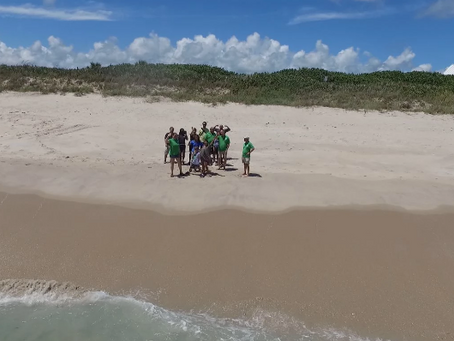 Fly for Conservation Workshop: Merging Drone Technology with Sea Turtle Conservation Efforts