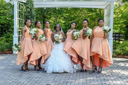 Ebony & Bridal Party