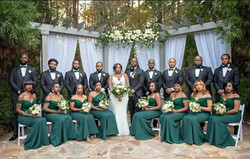 Kristy & Deondra Wedding party