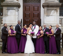 Lenia & Bridal Party