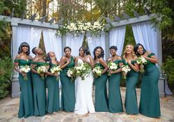 Kristy & bridesmaids