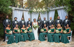 Kristy & Bridal Party