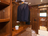 Main Deck Suite Wardrobe