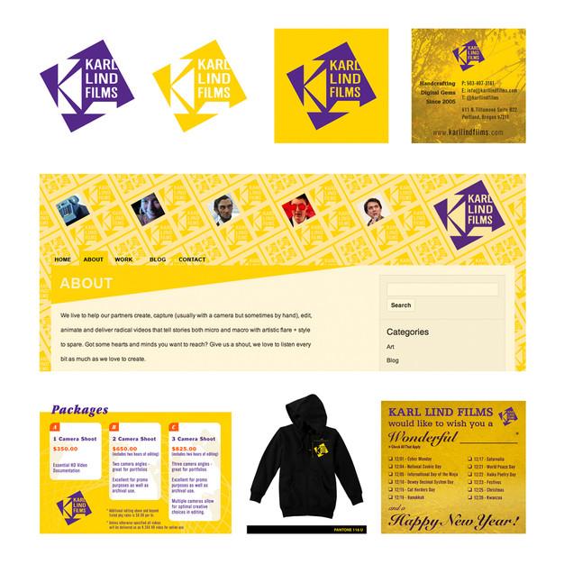KLF Branding, Website Design, Merchandising & Print Collateral