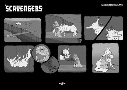SCAVENGERS PAGE FIVE