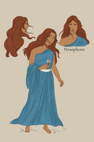 Persephone character design