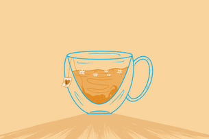 Chamomile Ghost-tea
