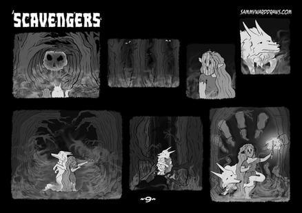 SCAVENGERS PAGE NINE