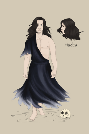 Hades character design