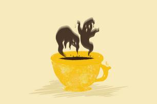 Caffeine Kick Ghost-tea