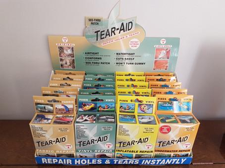 Tearepair, Tear, Tear Aid, inflatable repair