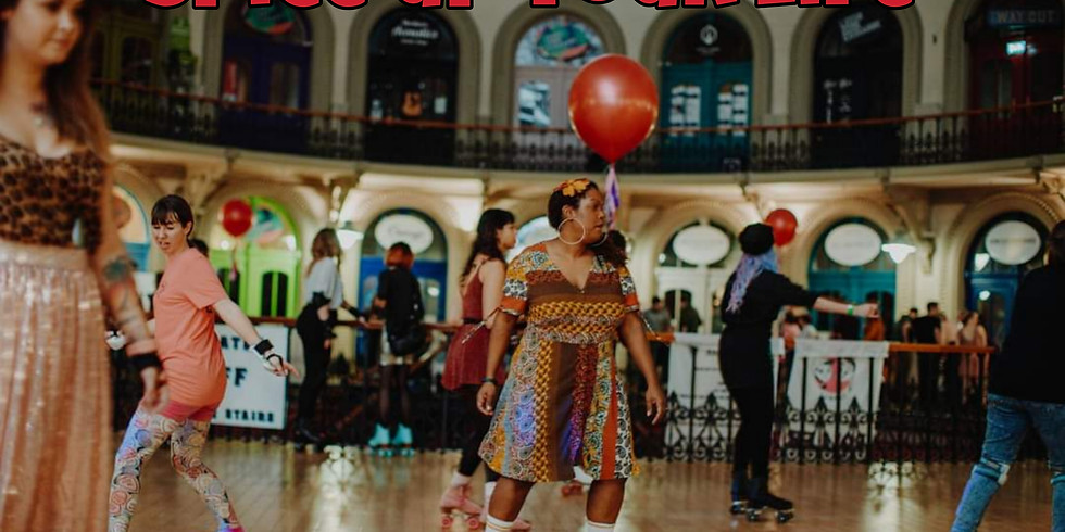 Spice Up Your Life Roller Skate Party