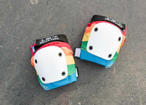 187 Rainbow Knee Pads
