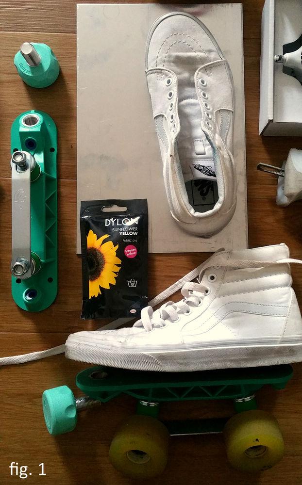 Making DIY Vans Rollerskates