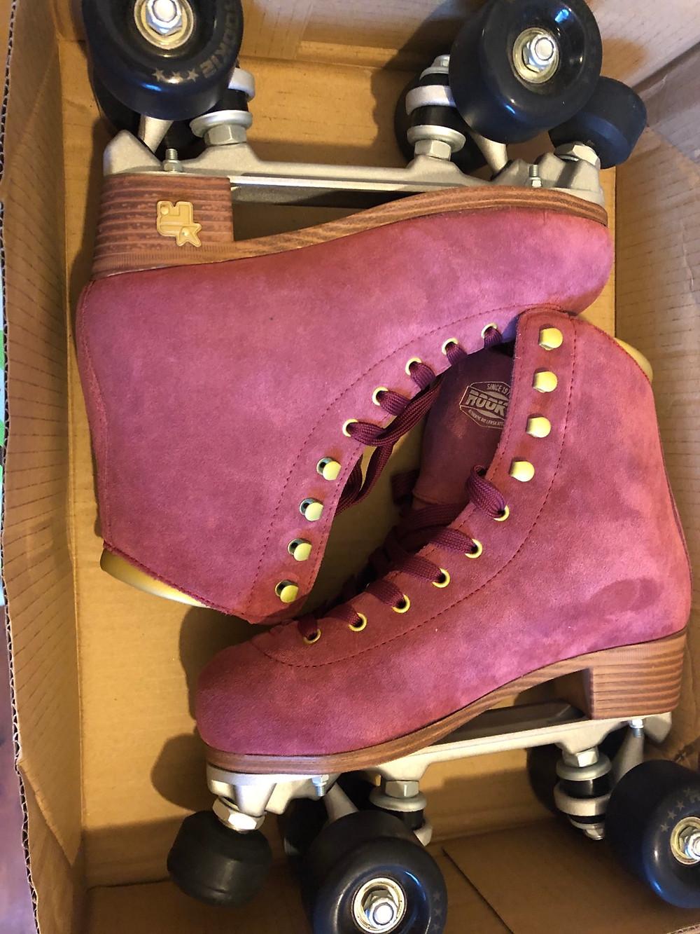 Rookie roller skates classic suede Roller Girl Gang