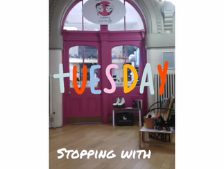 Tutorial Tuesday : Stopping backwards using your toe stops