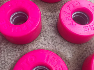 D.I.Y time! How to dye your skate wheels.