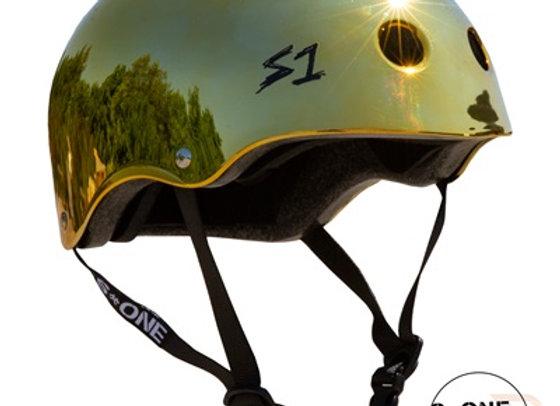 S1 Lifer Helmet - Gold Mirror.