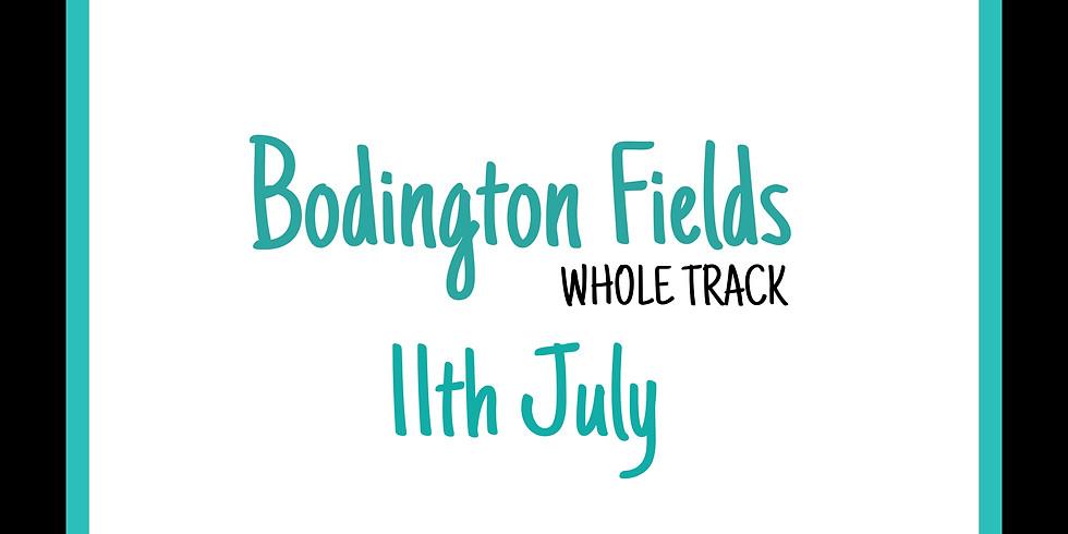 Sunday 11th July WHOLE TRACK