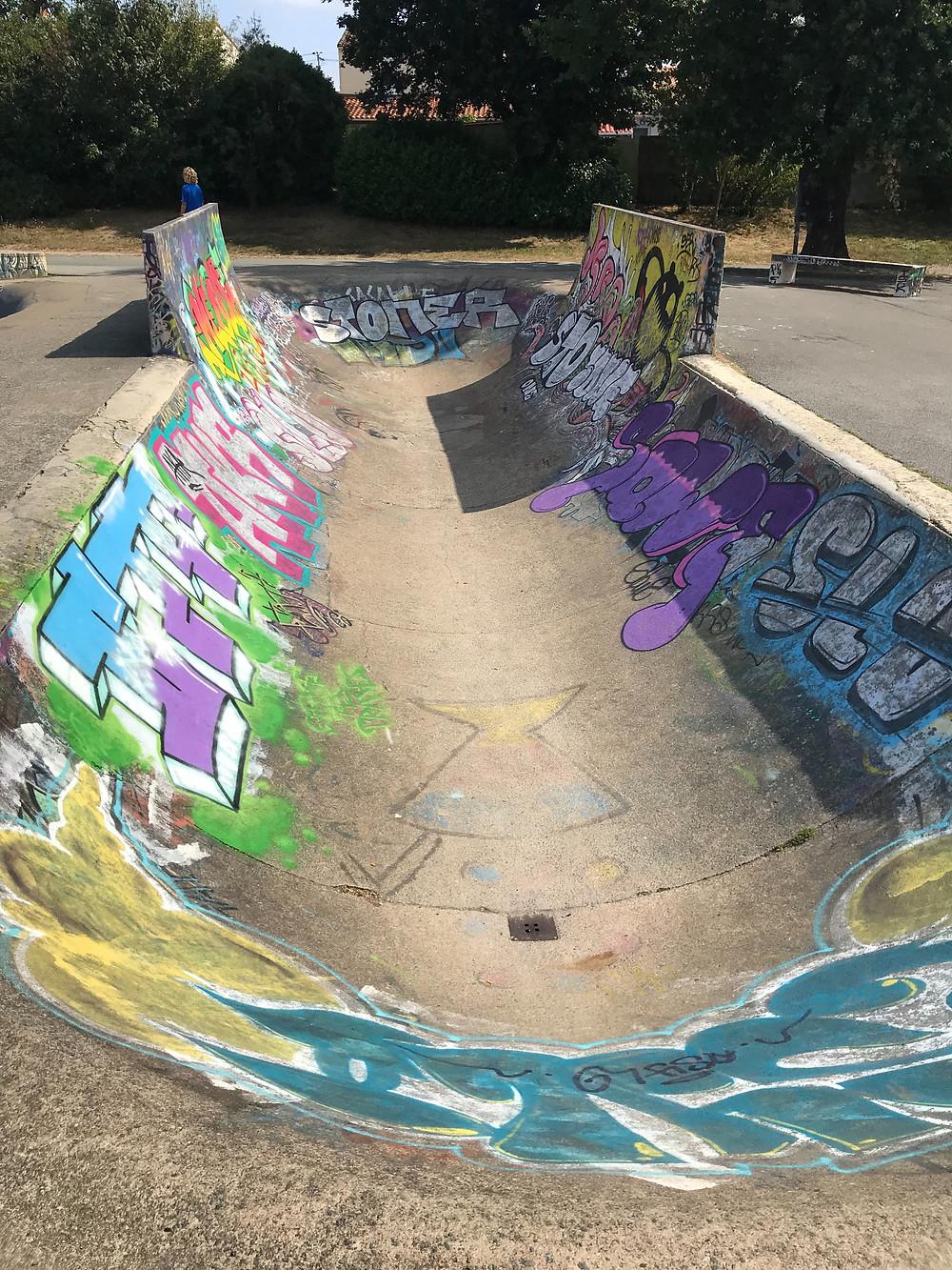 Skatepark in La Roche Sur Yon.