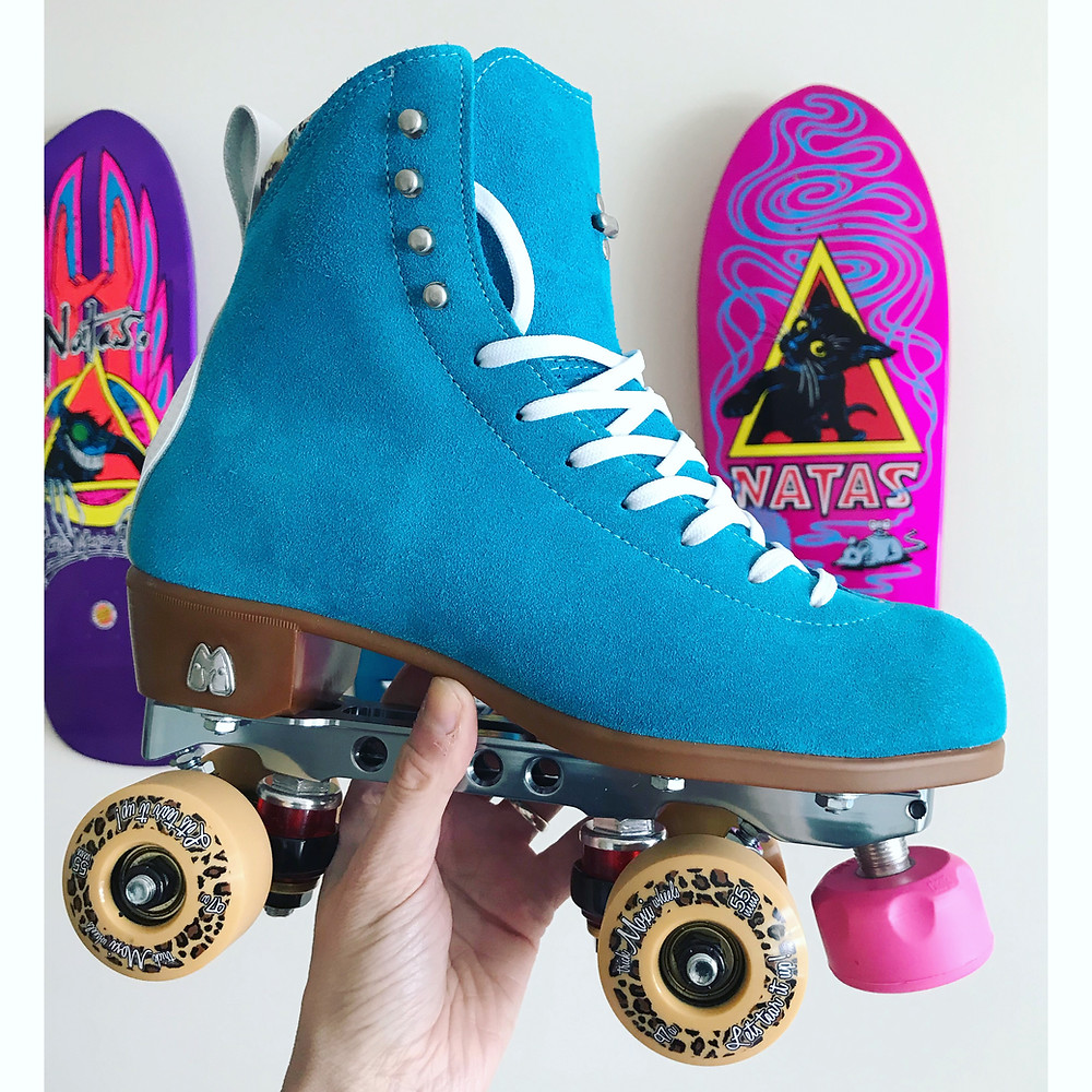 Moxi Trick Wheels Tan 97a 55mm