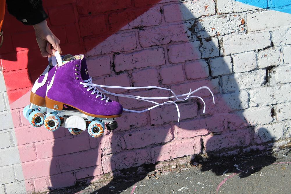 Moxi Fundae wheels.