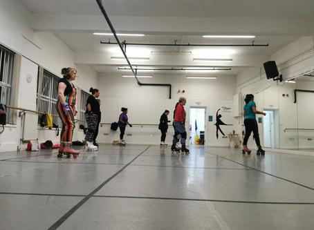 Starting Roller Skate Class