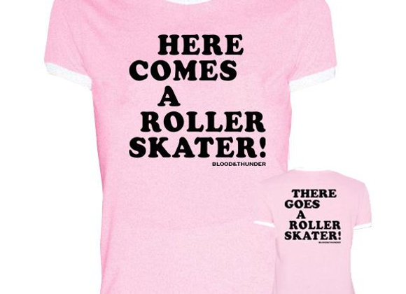 Here Comes A Roller Skater!