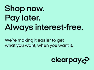 ClearPay now accepted!