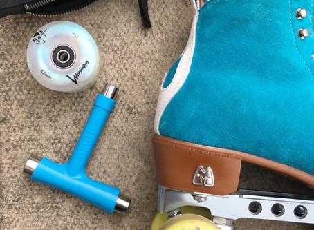 How to change roller skate wheels.