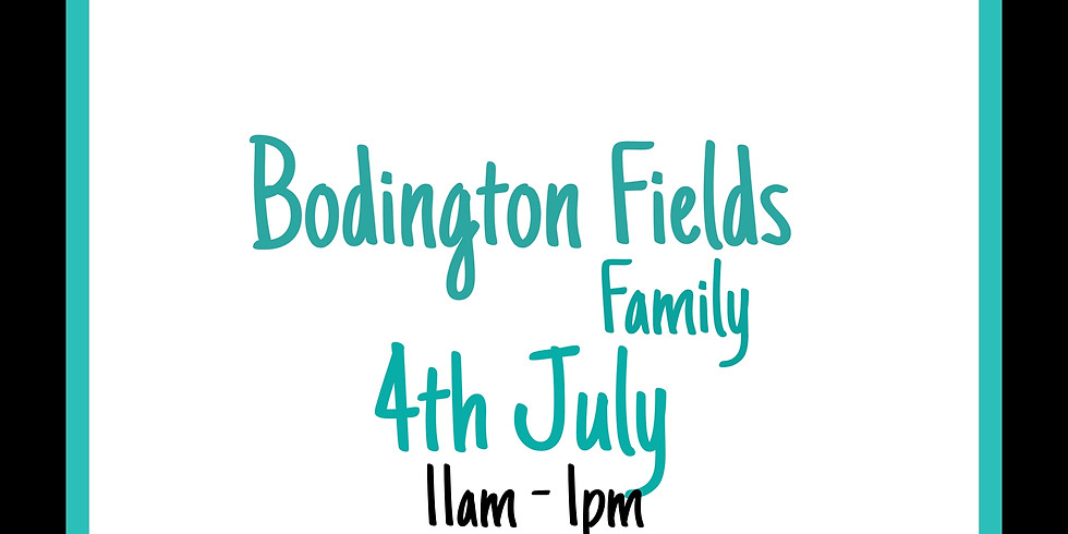Sunday 4th July (Family Friendly session)