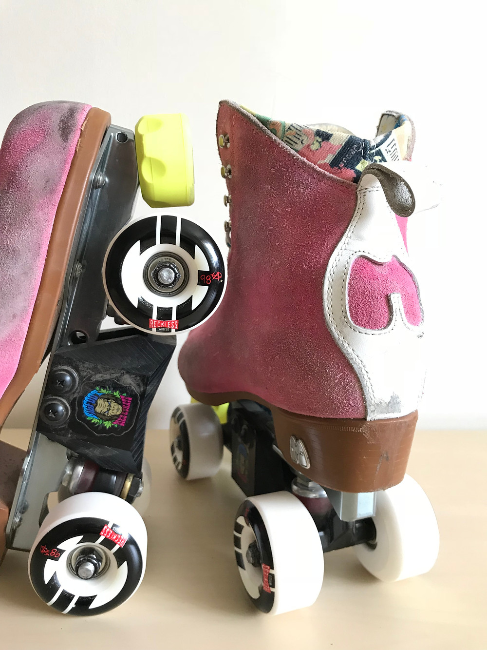 Chicks in Bowls x Reckless Park wheels 58mm 98a