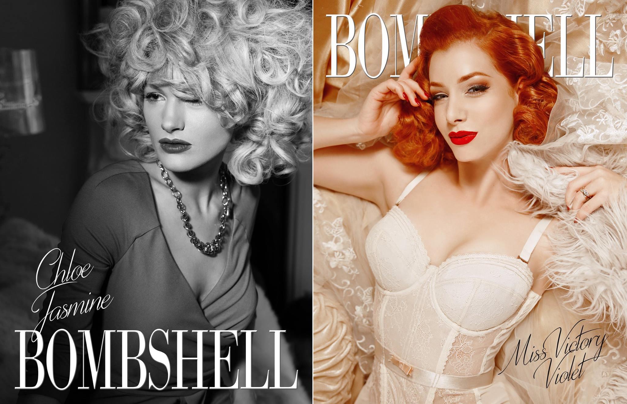 Bombshell Magazine Cover