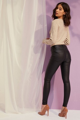 Vila Coated Skinny Jeans.jpg