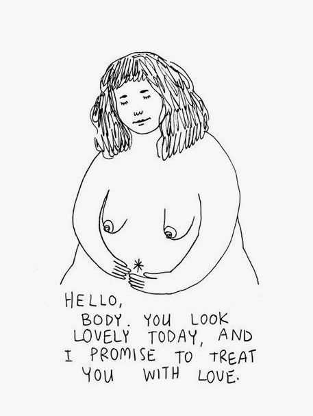 GO L*VE YOURSELF! #BODYPOSITIVITY