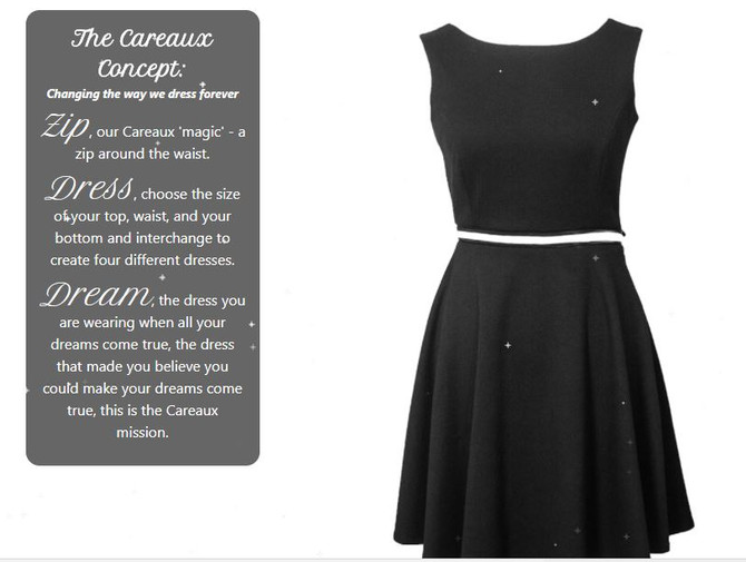 The Little Black Dress - Careaux